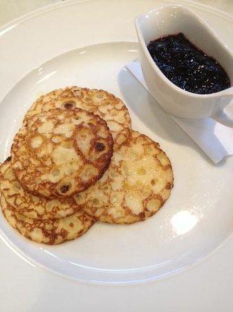 Lydmar Hotel: morning pancakes