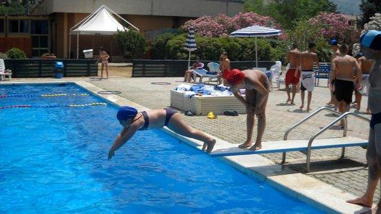 Hotel della Torre : piscina e trampolino