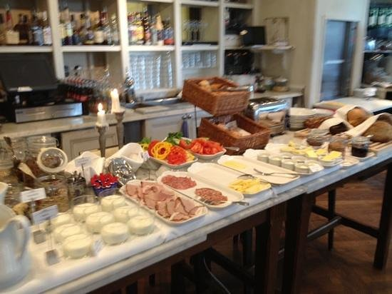 Lydmar Hotel: healthy start to the day