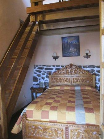Amaru Hostal: O quarto.