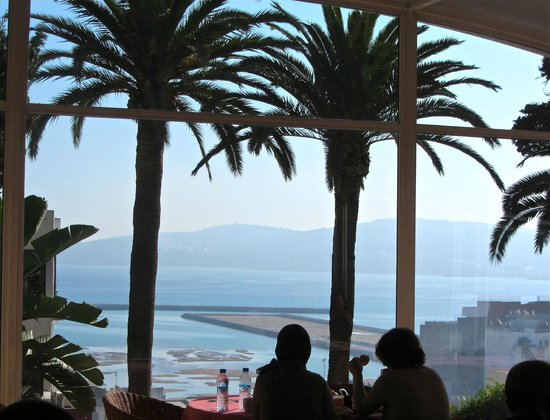 Rembrandt Hotel: view over the bay from the restaurant