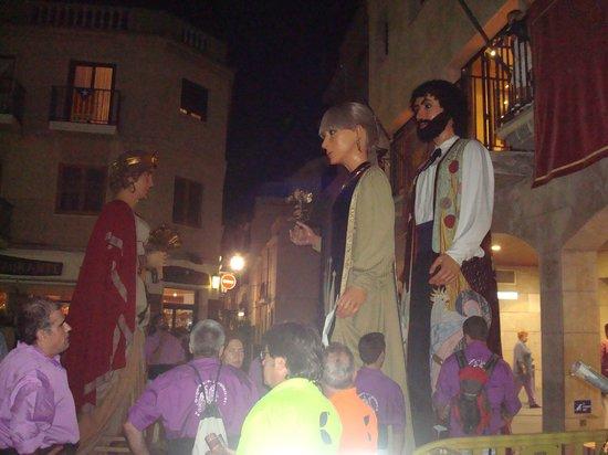 Hotel SERHS Oasis Park: Locals Fiesta... great fun