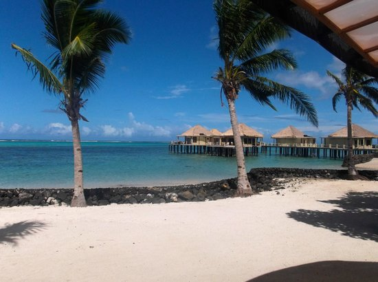Coconuts Beach Club: View from fale