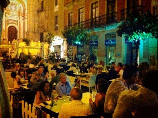 L'experience: Terraza noche
