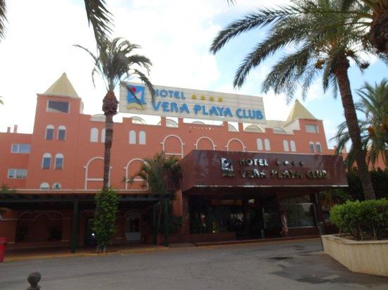 Vera Playa Club Hotel : Entrada del Hotel