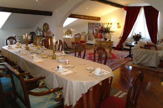 San Giorgio Rooms : sala colazioni