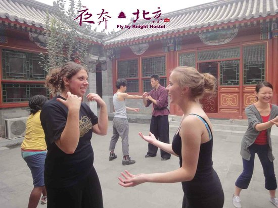 Fly by Knight Courtyard Beijing: Kung fu practice