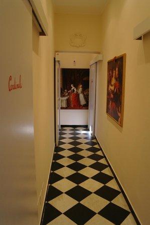 San Giorgio Rooms: corridoio