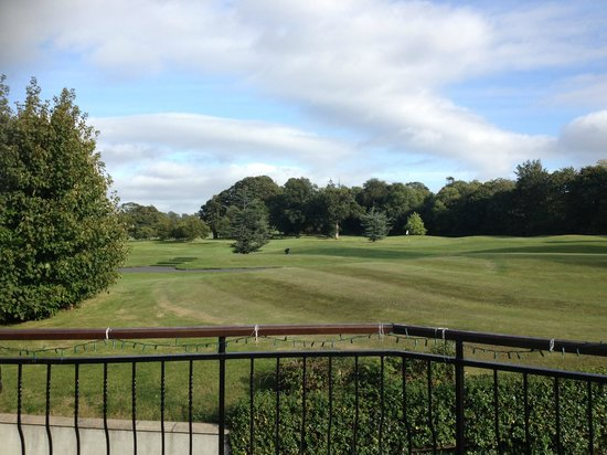 Faithlegg House Hotel & Golf Resort: view from club house....