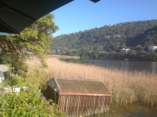 Moontide Guest House: view from breakfast terrace