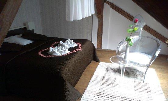 Hotel Peregrin: Romantic suite