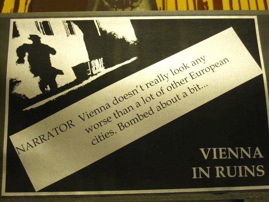 The Third Man Museum : Quotes from the film
