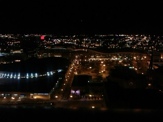 Renaissance Nashville Hotel: View from my room at night.