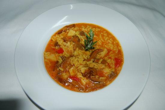 El Cancell : arroz meloso de sepia y setas