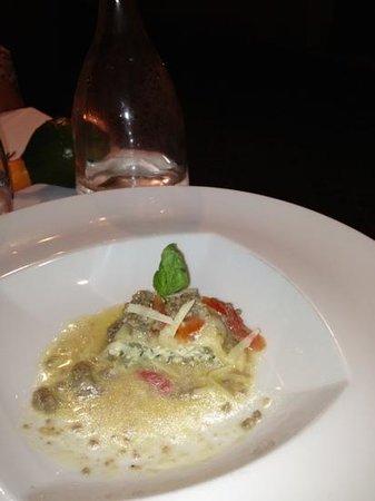 Sensus Restaurant: ravioli