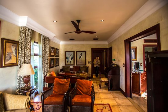 Forest Suites Hotel : Spacious living room