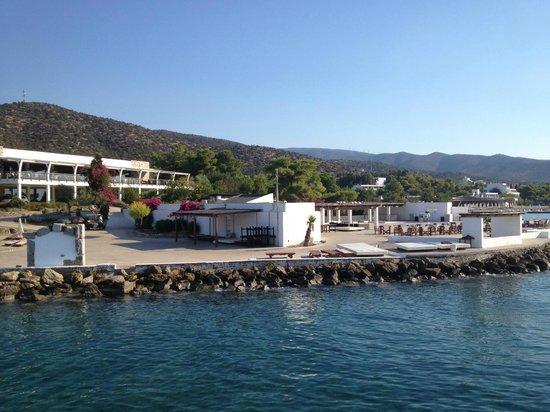 Barcelo Hydra Beach Resort: vu du restaurant