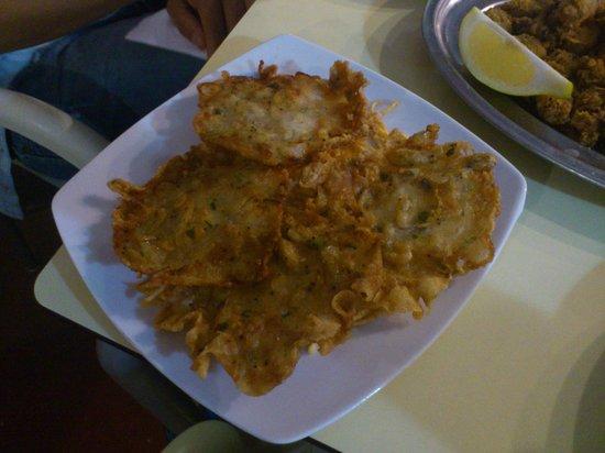 Rincon del Pulpo: Tortillitas de camarón