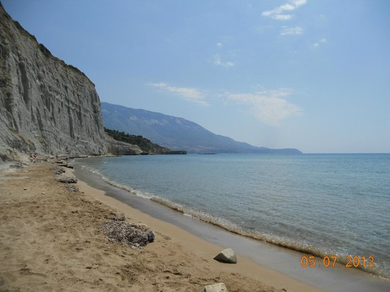 Panas Hotel: Panas beach