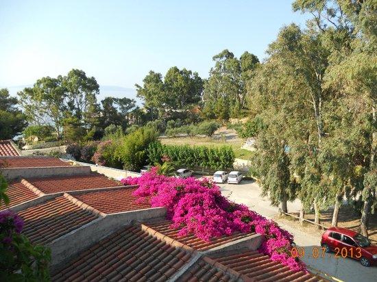 Panas Hotel: Balcony view