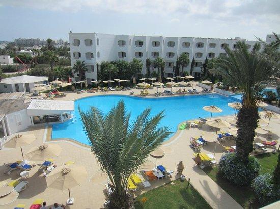 Thalassa Mahdia : piscina