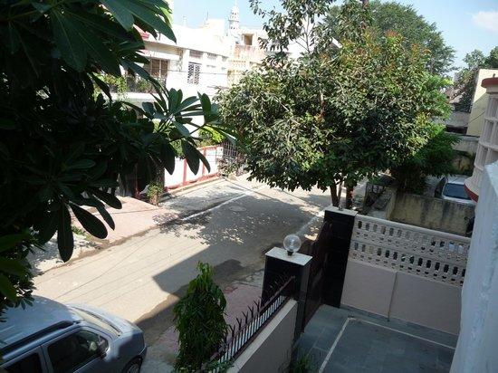 Sri Radha Krishna Kunj: View From Balcony