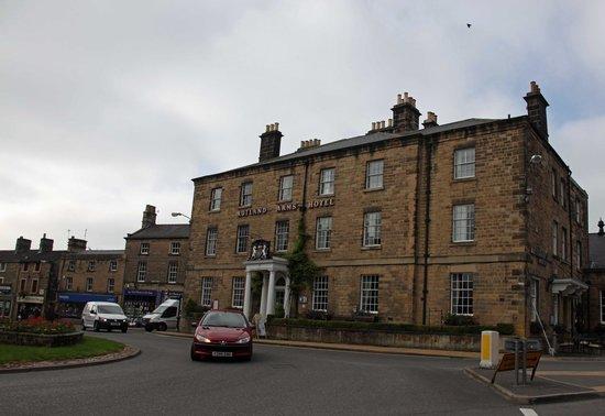 Rutland Arms Hotel Bakewell: The Rutland Arms.