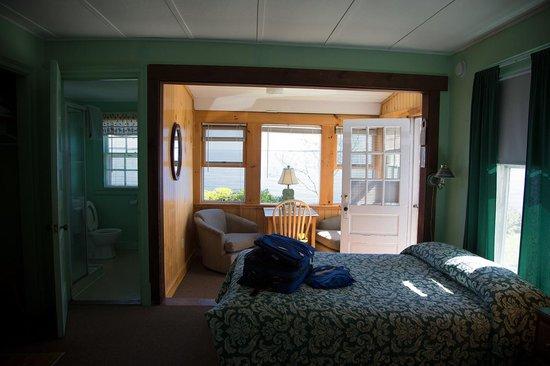 Beloin's on the Maine Coast: Cabin interior
