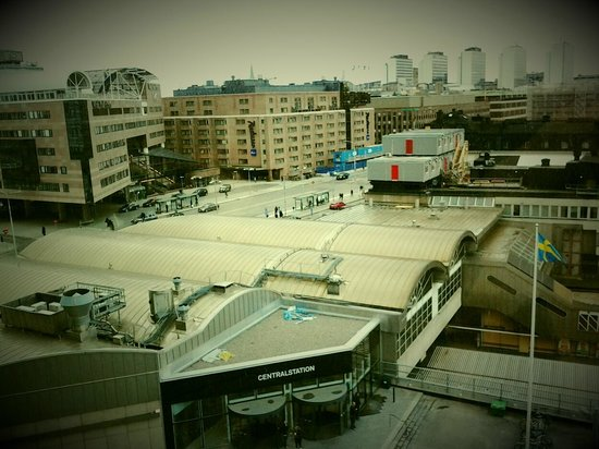 Radisson Blu Waterfront Hotel: Вид на Central Station