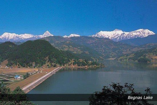 Begnas Lake: from boating said
