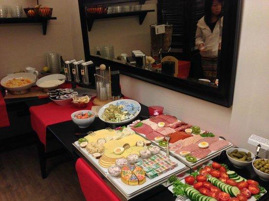 Arcade-Hostel : Breakfast selection