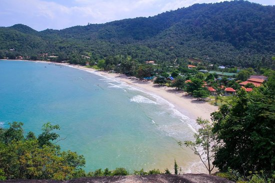 Koh Phangan Dreamland Resort: From the view point