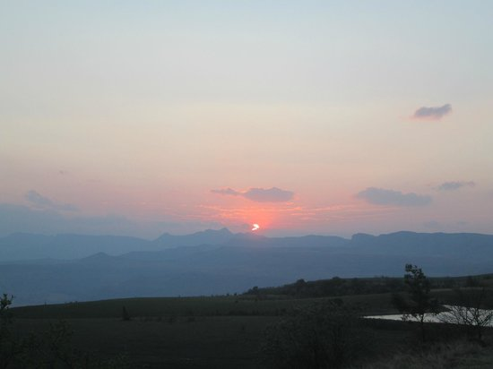 Drakensberg Mountain Retreat : sunset