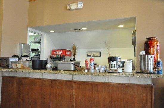 Chase Suite Hotel El Paso: Restaurant(朝食会場)