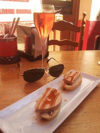 Bodega Bi-Arritz: Creamy Foie Gras