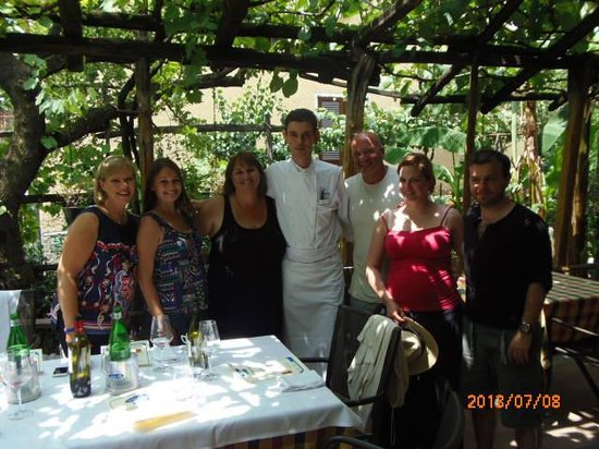 Salice Blu: Our Cooking Class group with Chef Luigi