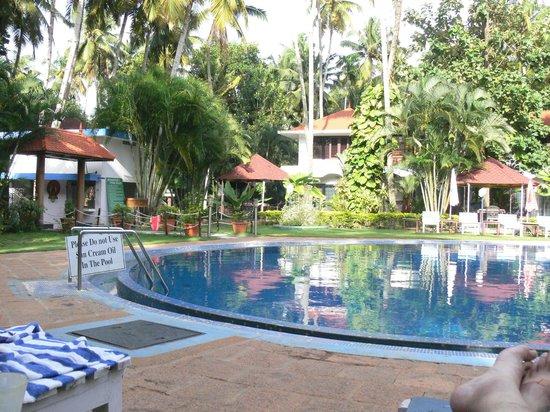 Akhil Beach Resort : Pool View