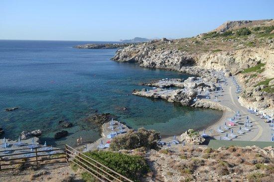 Kalithea Horizon Royal : La plage de l'hôtel