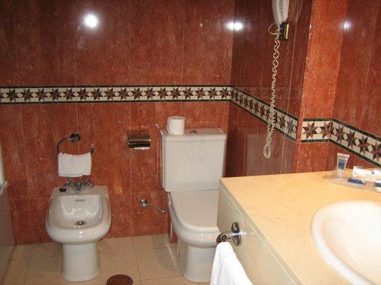 Hotel Palacio de Valderrabanos: Baño