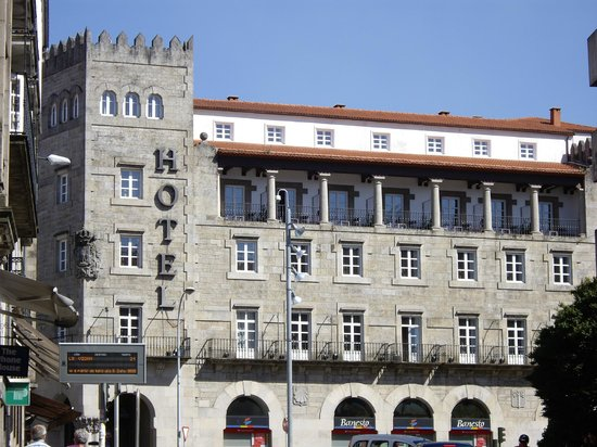 Hotel Compostela: View from across the road from the Old Town