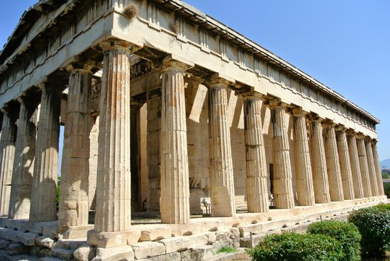 Temple Of Hephaistos Picture Of Private Greece Tours