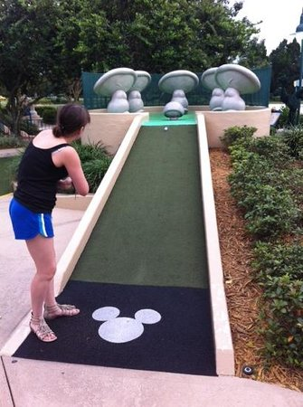 Moving Obstacles Very Very Fun And There Is A Miniature Golf Course That Can Be More Competitive