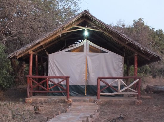 Ndololo Camp: tenda