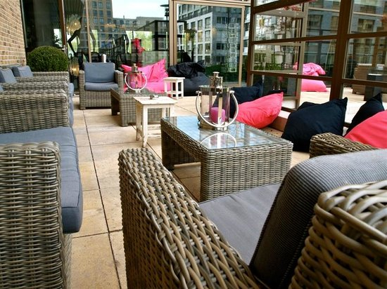 WestCord Fashion Hotel Amsterdam: Terrace