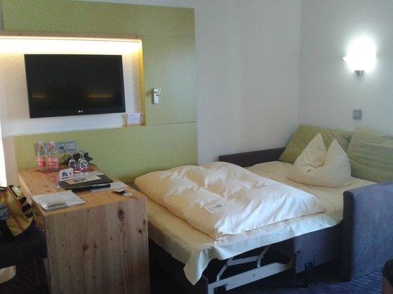 Bierhäusle Hotel-Restaurant: habitación doble