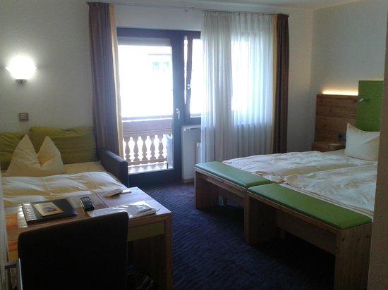 Bierhaeusle Hotel-Restaurant: Habitación doble