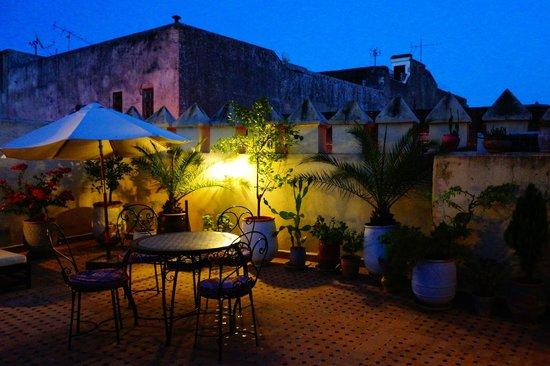 Riad Fes Baraka : La terrasse sur les toits