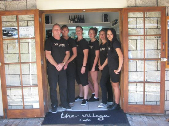 The Village Cafe: The Staff