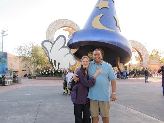 "Walt Disney World Resort: in front of the ""Hat"" in Hollywood Studios"