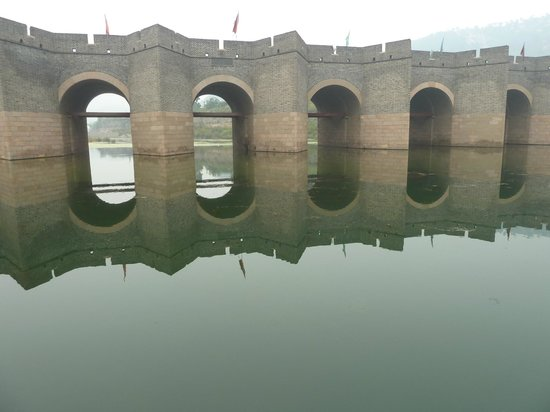Jiumenkou Great Wall: le pont